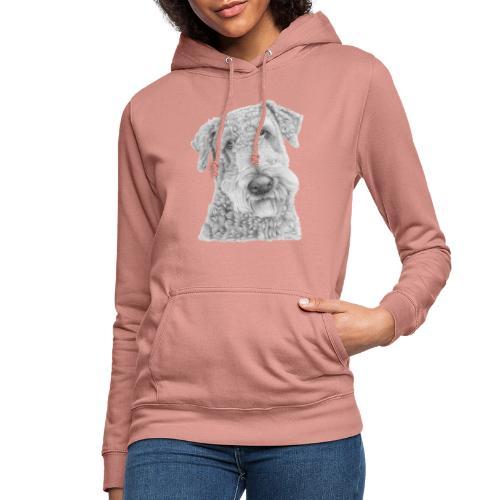 airedale terrier - Dame hoodie