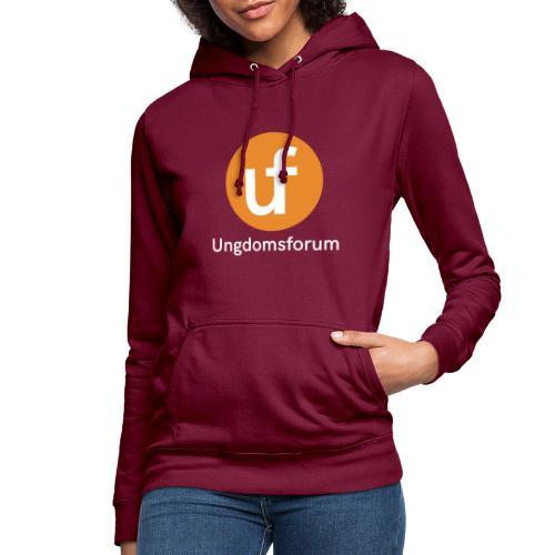 UF logo - Hettegenser for kvinner