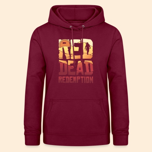 Red dead redemtion Sunset - Sudadera con capucha para mujer