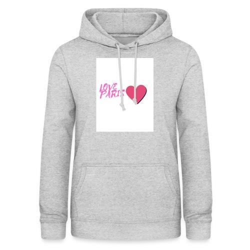 love paris rose - Sweat à capuche Femme