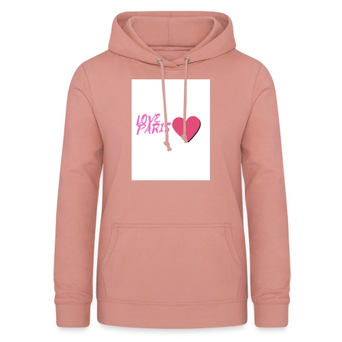 love paris rose - Sweat à capuche Femme