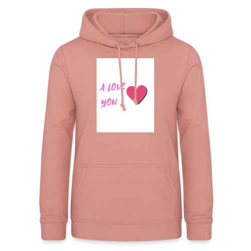 A LOVE YOU ROSE - Sweat à capuche Femme