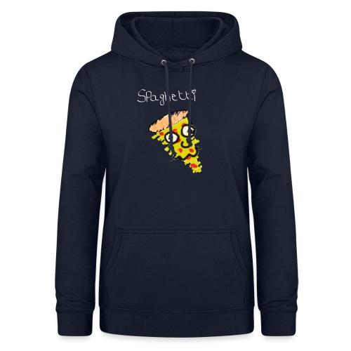 spaghetti (witte tekst) - Vrouwen hoodie