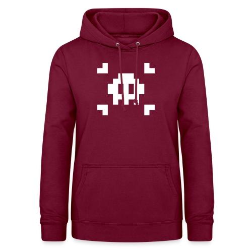 Pixel Skull - Sweat à capuche Femme