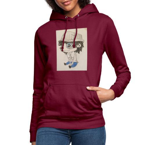 la vida es bella - Sudadera con capucha para mujer