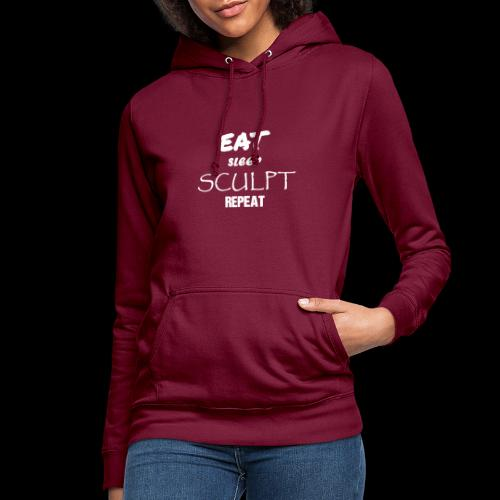 eat sleep B - Sweat à capuche Femme