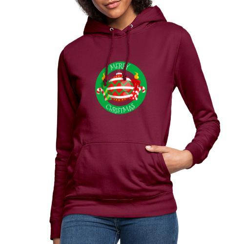 merry christmas 02 - Sudadera con capucha para mujer