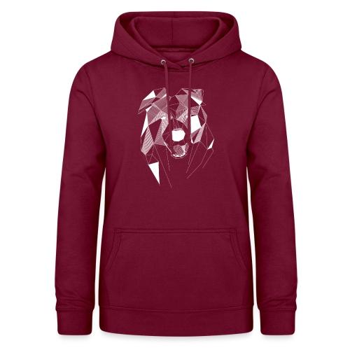 BorderCollie wit - Vrouwen hoodie