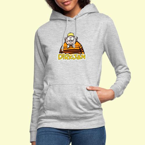DirkjanHalfLogo - Vrouwen hoodie