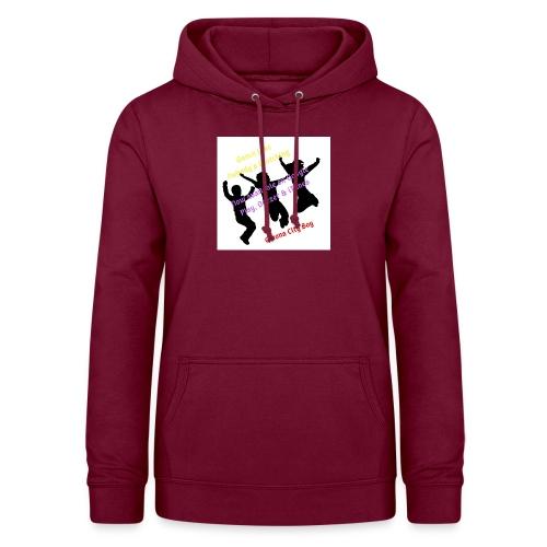 Dance3 - Sudadera con capucha para mujer