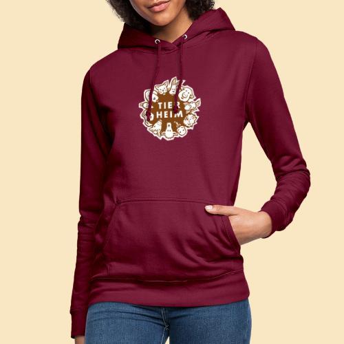 Tierheim Logo braunweiss - Frauen Hoodie