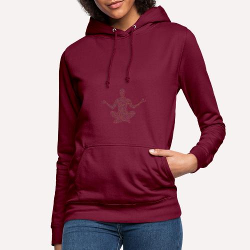 Yoga Pose Design For T-shirts and more Apparel - Women's Hoodie