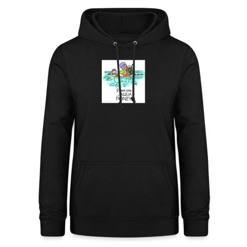 monde de nadoo aqua poney - Sweat à capuche Femme