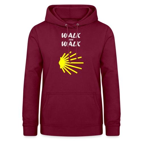Walk the Walk - Camino de Santiago - Dame hoodie
