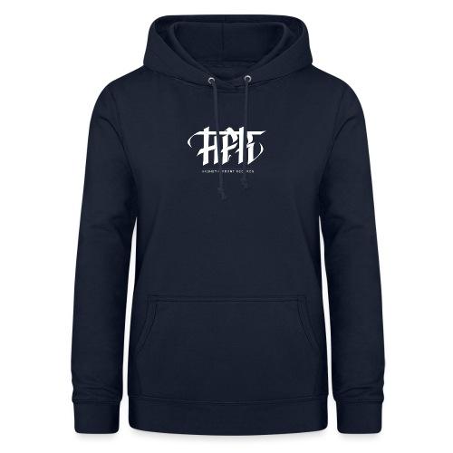 HFR - Logotipi vettoriale - Felpa con cappuccio da donna