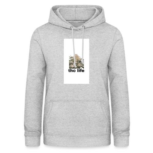 THCE LIFE - Sudadera con capucha para mujer