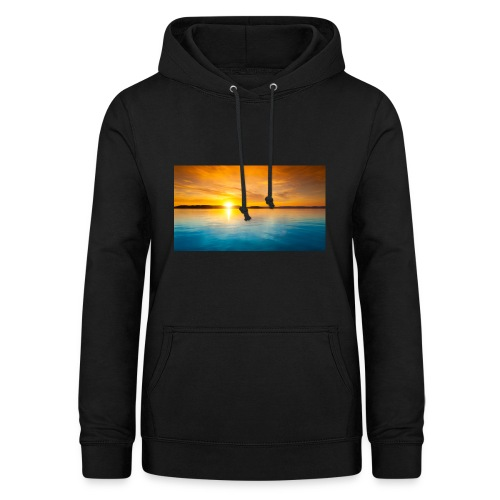 sunset - Sudadera con capucha para mujer
