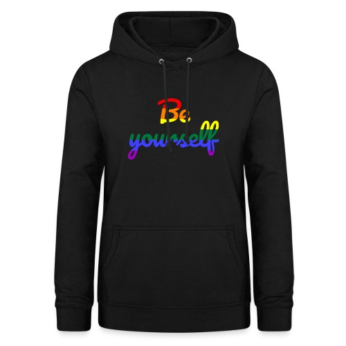 Be yourself - Frauen Hoodie