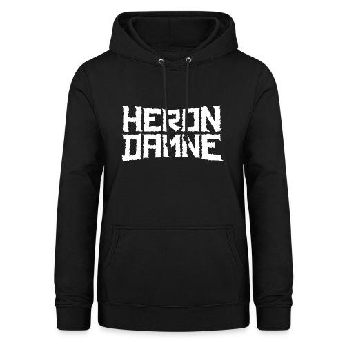 Héron Damné - Sweat à capuche Femme
