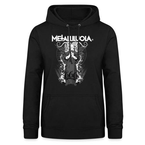 Metalliluola logo ja Demoniac 666 - Naisten huppari