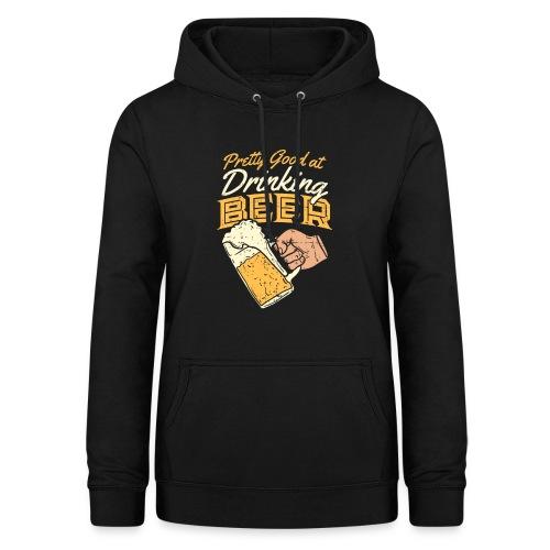drinking Beer - Frauen Hoodie
