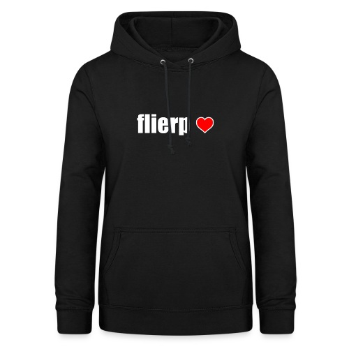 I love Flierp - Vrouwen hoodie