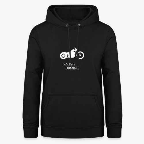 Spring is coming - Motorcycling T-Shirt - Frauen Hoodie