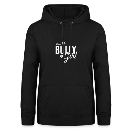 Happy Bully Girl - White Edition - Frauen Hoodie