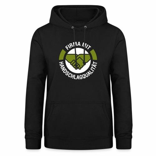 Handschlagqualität Logo weiss - Frauen Hoodie