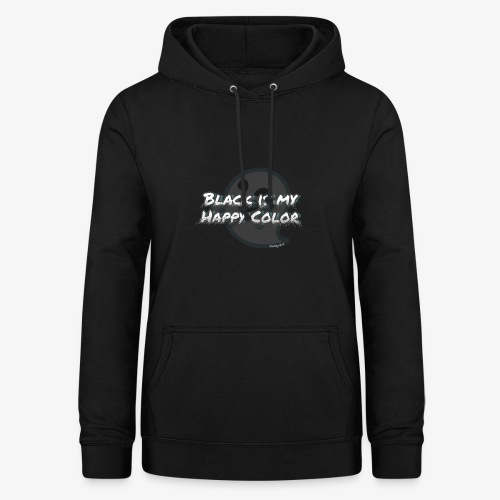 Black is my happy color - Women's Hoodie