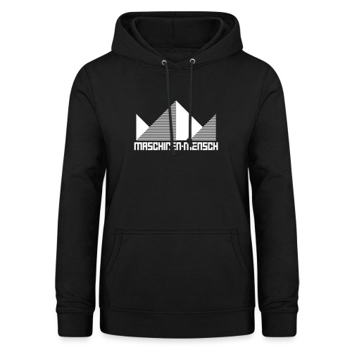 Maschinen-Mensch Logo black - Frauen Hoodie