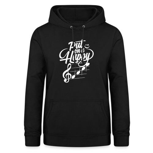happy face colorize - Frauen Hoodie