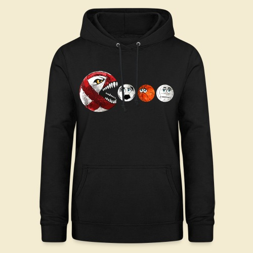 Radball | Cycle Ball RedMan - Frauen Hoodie