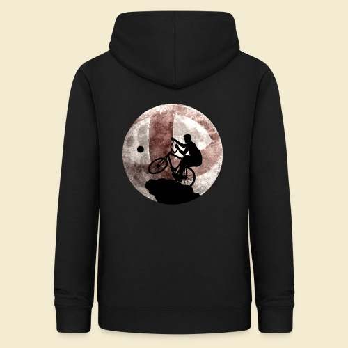 Radball | Cycle Ball Moon - Frauen Hoodie