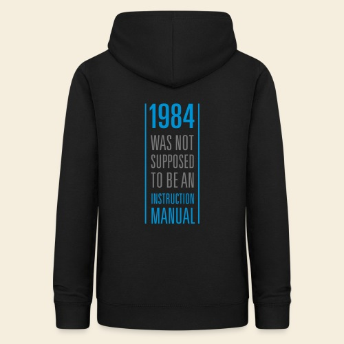 1984 what not Supposed to be in instruction manual - Women's Hoodie