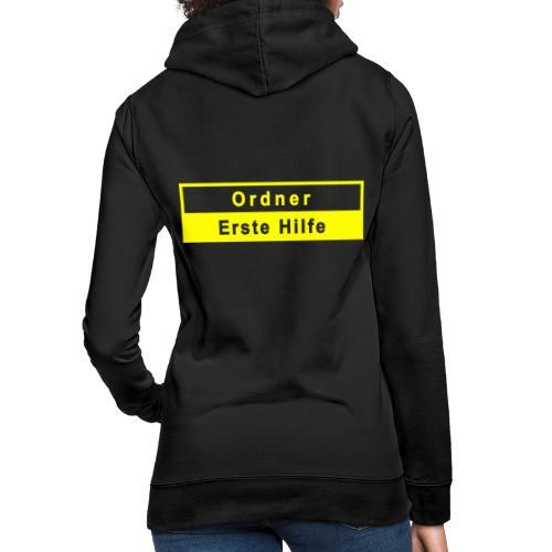 Ordner & Erste Hilfe, gelb - Frauen Hoodie