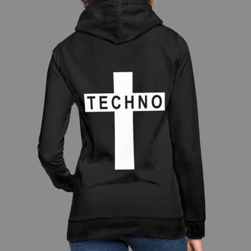 Techno Cross - Frauen Hoodie