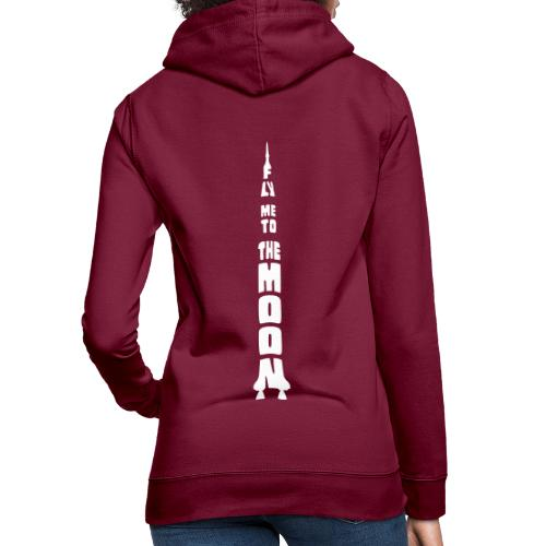 Fly me to the moon - Vrouwen hoodie