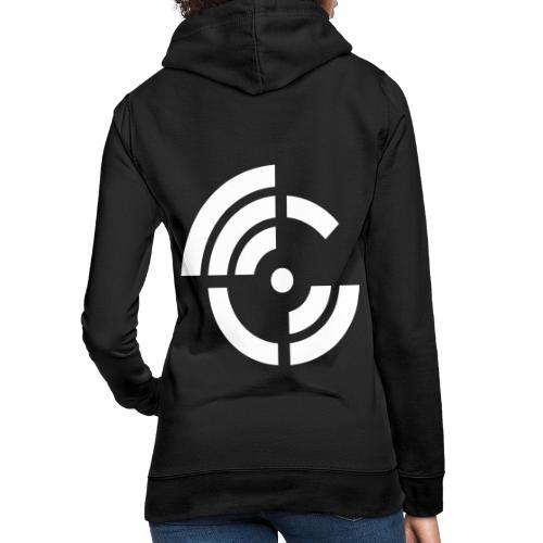 electroradio.fm logo - Women's Hoodie