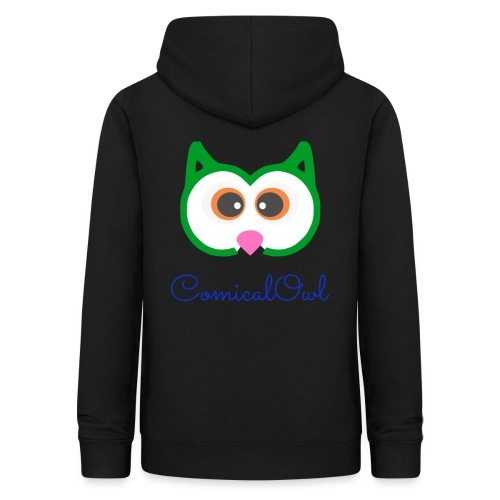 Cartoon Owl - Women's Hoodie