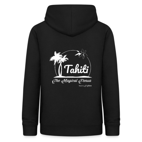 SUNSET Tahiti the magical place - Sweat à capuche Femme
