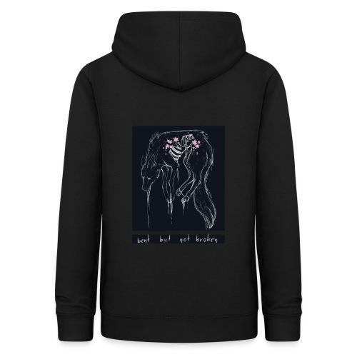 wolf. | Bent But Not Broken - Frauen Hoodie