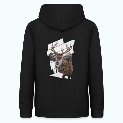 Hipster reindeer - Women's Hoodie