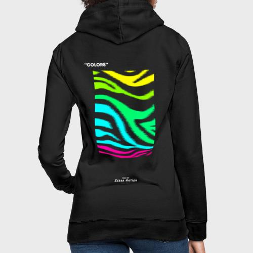 Zebra Nation (Colors) 2019 Collection - Women's Hoodie