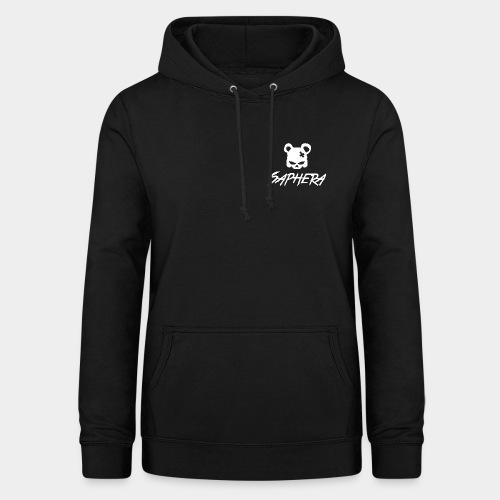 SAPHERA LOGO WHITE TRANS - Vrouwen hoodie