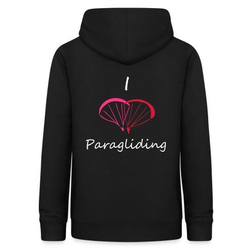 I Love Paragliding V2 - Women's Hoodie