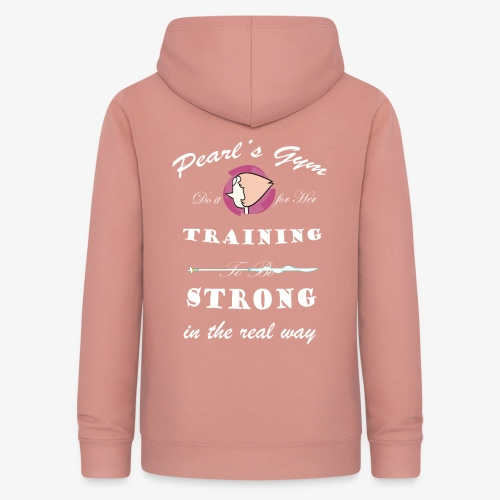 Strong in the Real Way - Felpa con cappuccio da donna