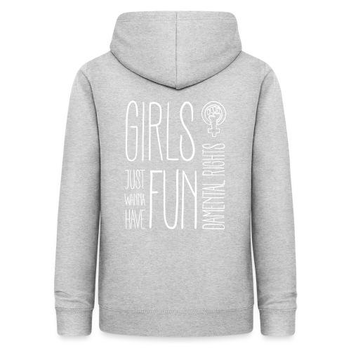 Girls just wanna have fundamental rights - Frauen Hoodie