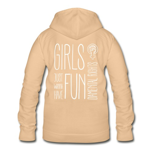 Girls just wanna have fundamental rights - Frauen Hoodie