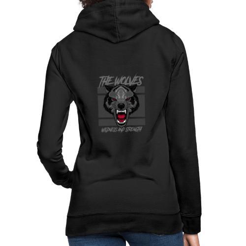 Boze wolf design - Vrouwen hoodie